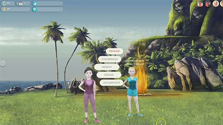Screenshot Serious Game