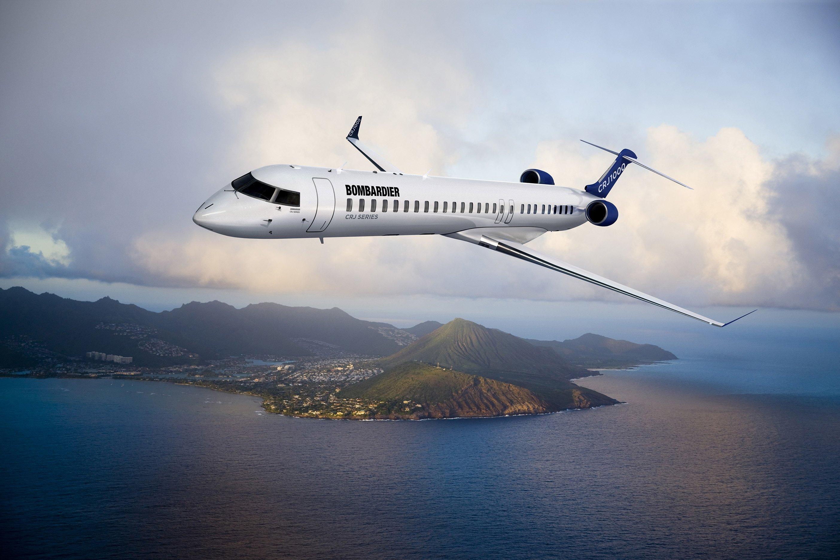 Plane Bombardier