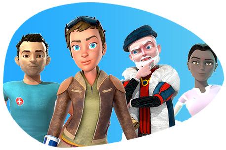 Die Game-based Learning Plattform für Unternehmensschulungen